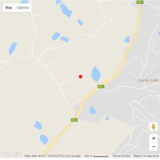 Map Villa 3016 in San Lameer  South Coast (KZN)  KwaZulu Natal  South Africa