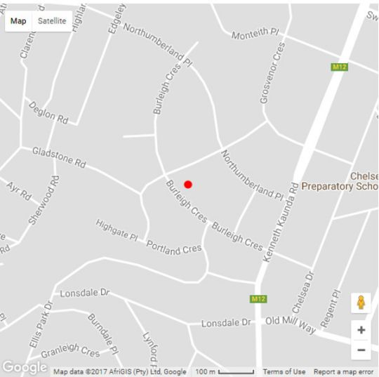 Map The Brother\'s Guest House in Durban North  Northern Suburbs (DBN)  Durban and Surrounds  KwaZulu Natal  South Africa