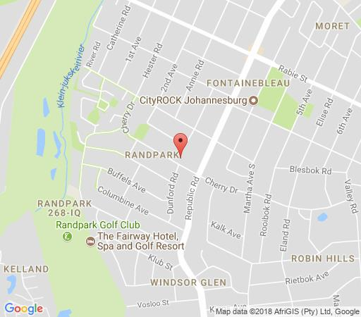 Map 49 on Cherry B&B in Randpark Ridge  Randburg  Johannesburg  Gauteng  South Africa