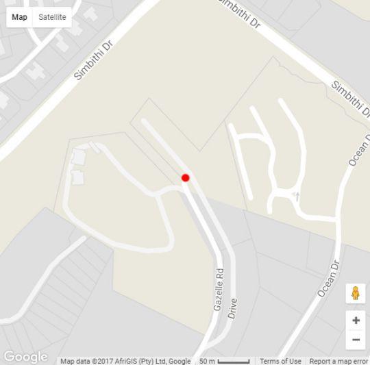 Map Greenhaven 23 in Ballito  North Coast (KZN)  KwaZulu Natal  South Africa
