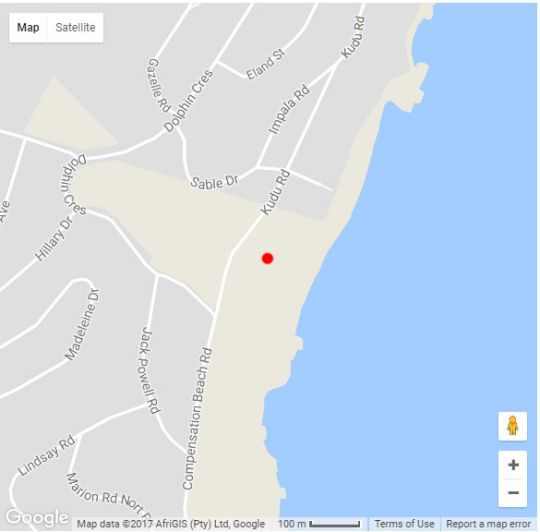 Map 309 Kenwyn-on-Sea in Ballito  North Coast (KZN)  KwaZulu Natal  South Africa