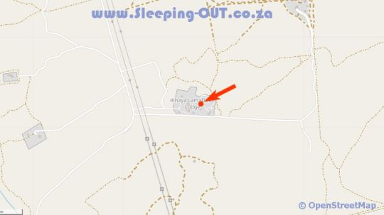 Map iKhaya LamaDube Game Lodge in Dinokeng North  Metsweding District  Gauteng  South Africa