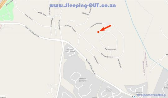 Map Be Our Guest Selfcatering Apartments in Nelspruit  Lowveld  Mpumalanga  South Africa