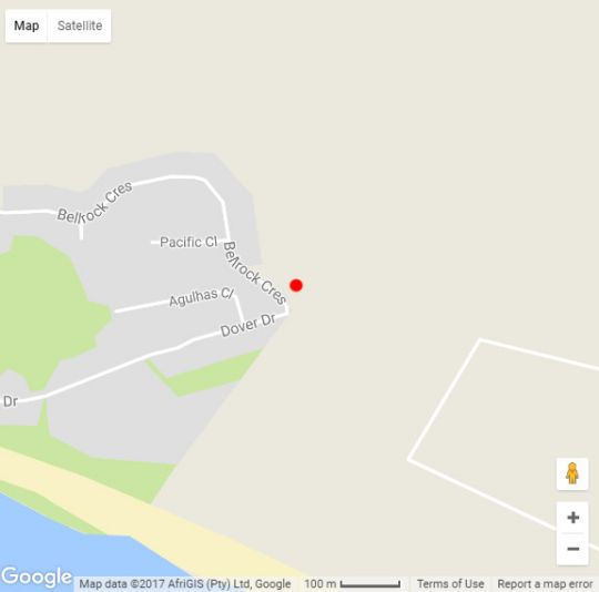 Map Slowdown Guest House in Sedgefield  Garden Route  Western Cape  South Africa