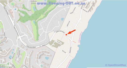 Map The Atrium 36 in Shaka's Rock  North Coast (KZN)  KwaZulu Natal  South Africa
