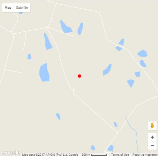 Map Amara Farm in Plettenberg Bay  Garden Route  Western Cape  South Africa