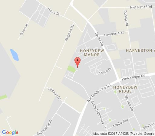 Map Home Sweet Home in Wilgeheuwel  Roodepoort  West Rand  Gauteng  South Africa