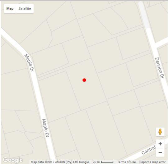 Map Treehouse on Maple B&B in Atholl  Sandton  Johannesburg  Gauteng  South Africa