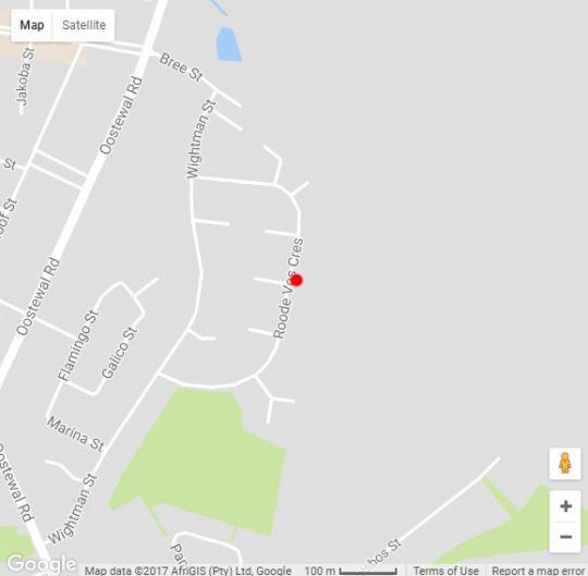 Map Glenfinnan Guest House B&B in Langebaan  West Coast (WC)  Western Cape  South Africa
