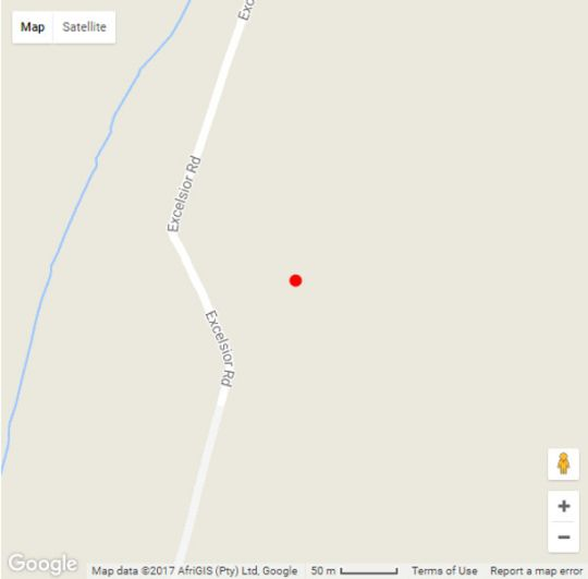Map Olive Cottage in Franschhoek  Cape Winelands  Western Cape  South Africa