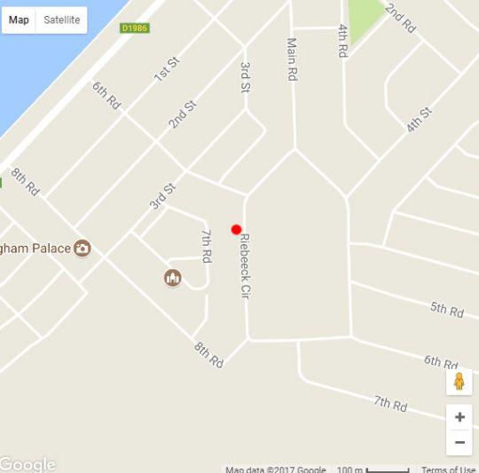 Map The Rez in Walvis Bay  Erongo  Namibia