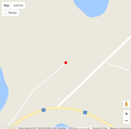 Map Florence Guest Farm in Chrissiesmeer  Wetlands  Mpumalanga  South Africa