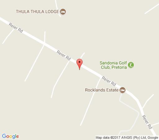 Map Malibu Country Lodge in Kameeldrift East  Pretoria East  Pretoria / Tshwane  Gauteng  South Africa