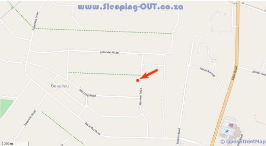 Map Eros Isle Chalet Retreat in Glen Austin AH  Midrand  Johannesburg  Gauteng  South Africa