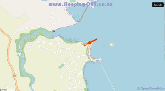 Map Azuri Resort in Roches Noires  Mauritius
