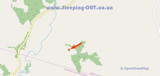 Map Old Furth Estate in Dargle  Midlands  KwaZulu Natal  South Africa