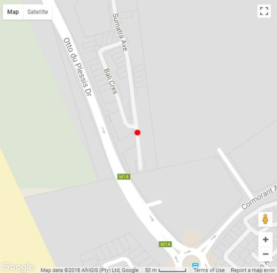 Map Bella Mia 178 in Big Bay  Blaauwberg  Cape Town  Western Cape  South Africa