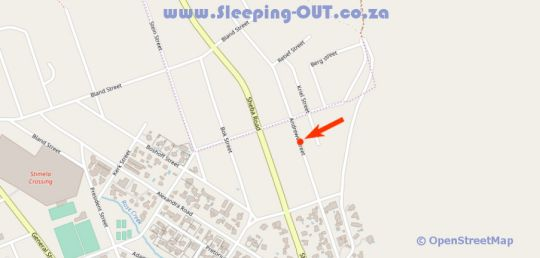 Map 28 On Andrew  in Barberton  Lowveld  Mpumalanga  Suid-Afrika