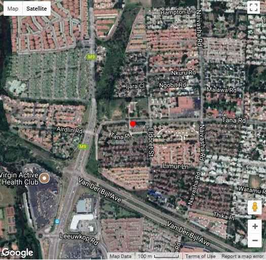Map Sunninghill Sojourn in Sunninghill  Sandton  Johannesburg  Gauteng  South Africa