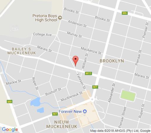 Map 440 at Brooklyn in Brooklyn (PTA)  Pretoria Central  Pretoria / Tshwane  Gauteng  South Africa