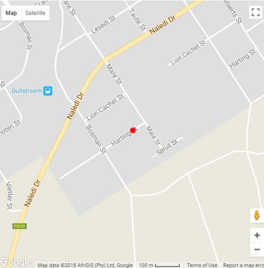 Map Hornestone Inn in Dullstroom  Highlands  Mpumalanga  South Africa