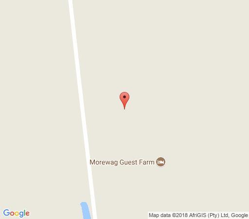 Map Morewag farm in Springbok  Namakwaland  Northern Cape  Zuid-Afrika