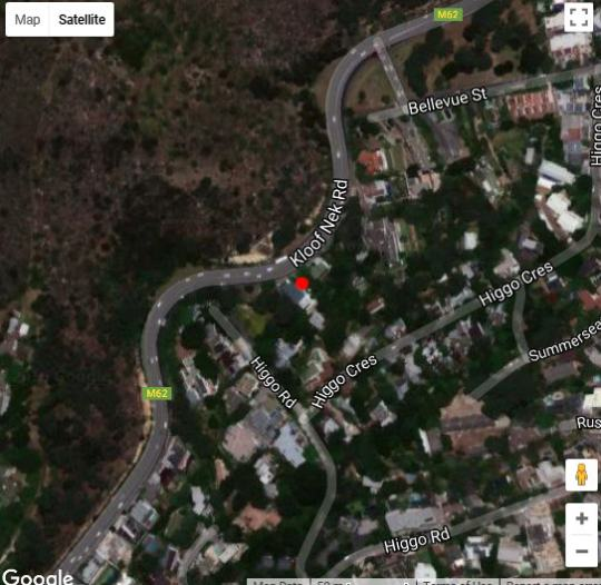 Map 129 on Kloof Nek in Higgovale  City Bowl  Cape Town  Western Cape  South Africa