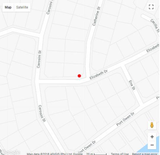 Map Villa Esperanza B&B Suite in Velddrif  West Coast (WC)  Western Cape  South Africa
