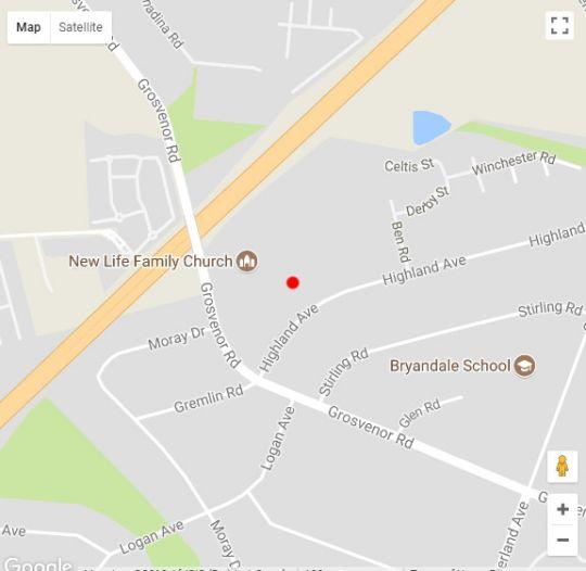 Map Dikalo Highston in Bryanston  Sandton  Johannesburg  Gauteng  South Africa