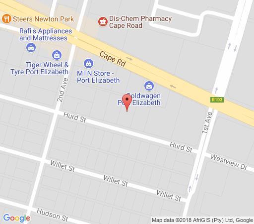 Map Gai Séjour in Newton Park  Port Elizabeth  Cacadu (Sarah Baartman)  Eastern Cape  South Africa