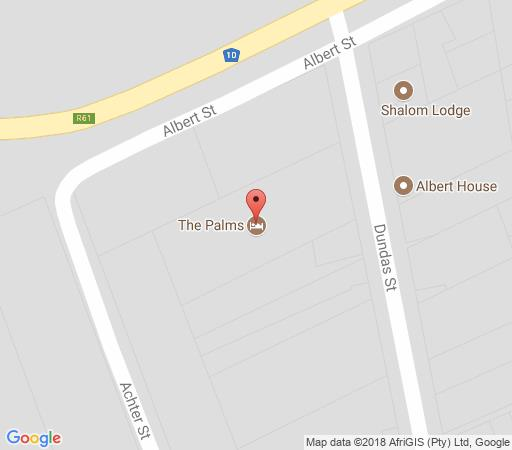 Map The Palms Cradock in Cradock  Stormberg District  Eastern Cape  South Africa