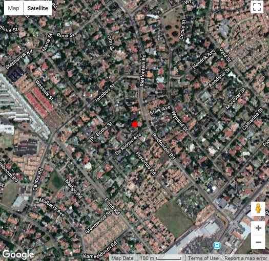 Map Khesa Guesthome in Kempton Park  Ekurhuleni (East Rand)  Gauteng  South Africa