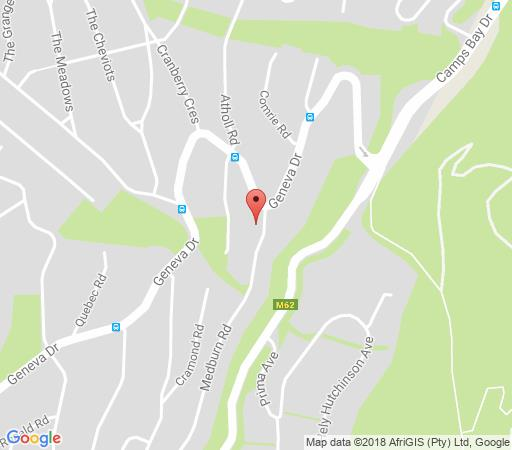 Map 2 on Medburn in Camps Bay  Atlantic Seaboard  Cape Town  Western Cape  South Africa