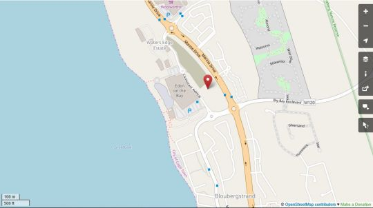 Map Azure 34 On Big Bay in Big Bay  Blaauwberg  Cape Town  Western Cape  South Africa