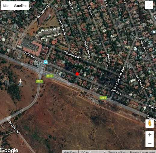 Map Ridge Accommodation in Waterkloof Ridge  Pretoria East  Pretoria / Tshwane  Gauteng  Zuid-Afrika