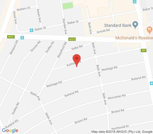 Map The Ashford in Parkwood  Northcliff/Rosebank  Johannesburg  Gauteng  South Africa