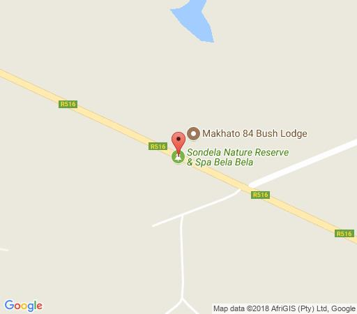 Map Makhato 27 in Bela Bela  Bushveld  Limpopo  South Africa