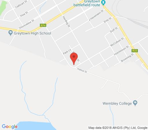 Map Rest a Little in Greytown  Midlands  KwaZulu Natal  South Africa