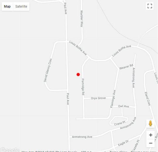 Map Nyala_Park Inn in Empangeni  Zululand  KwaZulu Natal  South Africa