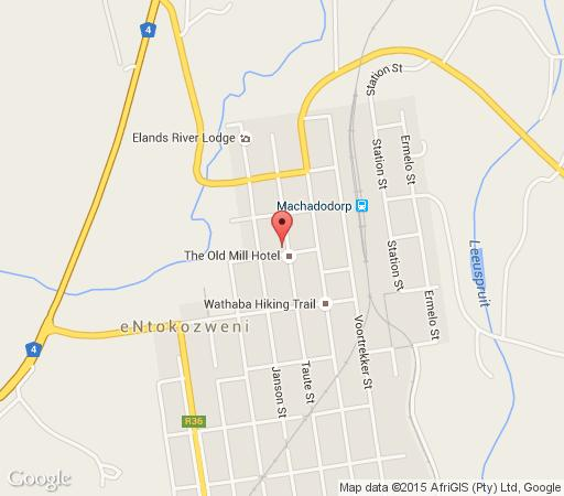 Map Absolute Leisure Cottages in Machadodorp  Highlands  Mpumalanga  South Africa