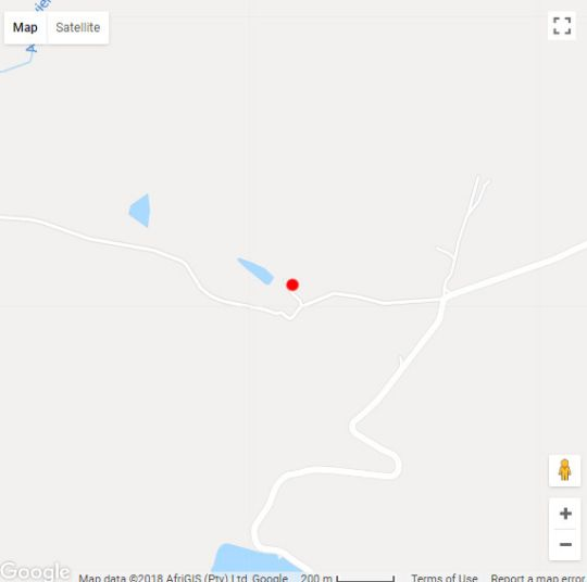 Map De Aap Farm Lodge & Private Nature Reserve in Klaarstroom  Karoo  Western Cape  South Africa