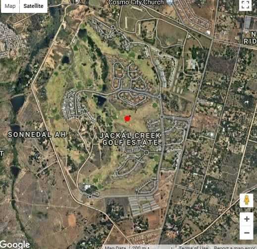 Map JoziStay Jackal Creek Apartments in Honeydew  Roodepoort  West Rand  Gauteng  South Africa