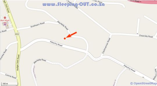 Map The Meritus Guest House in Westville  Western Suburbs (DBN)  Durban and Surrounds  KwaZulu Natal  South Africa