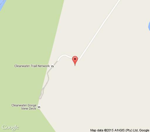 Map Clearwater Trails & Cabins in Port Edward  South Coast (KZN)  KwaZulu Natal  South Africa