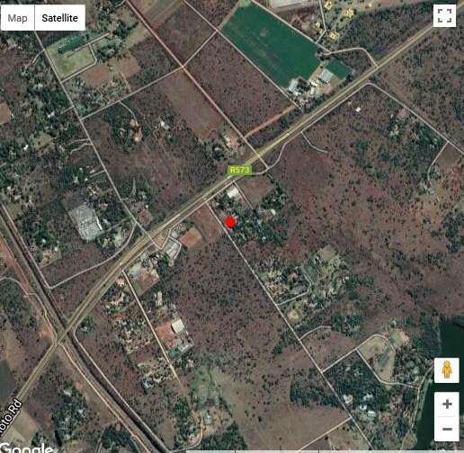 Map Retro Cafe & Motel in Kameeldrift East  Pretoria East  Pretoria / Tshwane  Gauteng  South Africa
