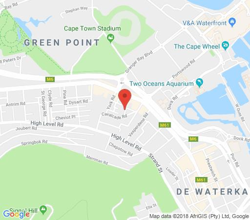 Map Camberleigh Place 4  in Green Point  Atlantic Seaboard  Cape Town  Western Cape  South Africa