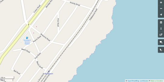Map Sea Cottage in Southport  South Coast (KZN)  KwaZulu Natal  South Africa