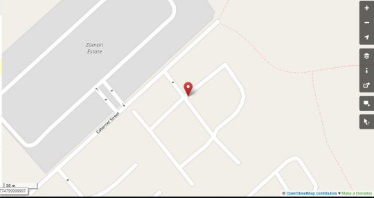 Map Tntee Apartments in Ruimsig  Roodepoort  West Rand  Gauteng  South Africa