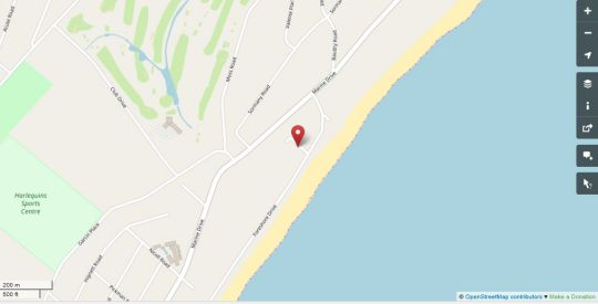 Map 32 Foreshore Drive in Bluff  Durban  Durban and Surrounds  KwaZulu Natal  South Africa