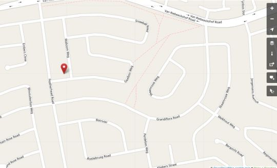 Map Petite Apartment in Bellville  Northern Suburbs (CPT)  Cape Town  Western Cape  South Africa